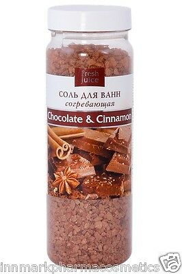 32479 Bath salt Chocolate & Cinnamon Warming 700g Fresh Juice