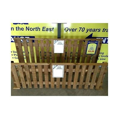 Treated Fence Capping For Picket Fence Panel - 1.8m - Next Day Delivery