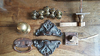 A Collection Of Antique Door Furniture. Rb 28