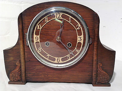 Antique Mantel Shelf Strike Clock - JPS