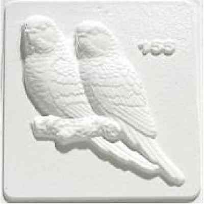 Budgies Plaster Mould/Mold/Moulds/Molds 2155