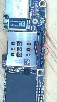 Repair Service U3 IC Home and Power Button faulty iPhone 5, Pry damage