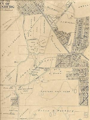 Elmsford Fairview East Irvington NY 1911  Maps with Homeowners Names Shown