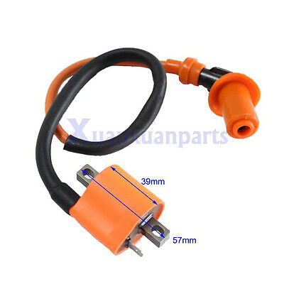 Hi Performance Ignition Coil 6 or 12 volts For Suzuki Points or CDI Magneto