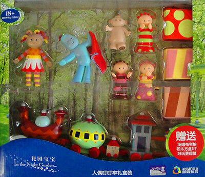 In The Night Garden Action Figure Cake Decor Figurines Ninky Nonk Train Kids Toy