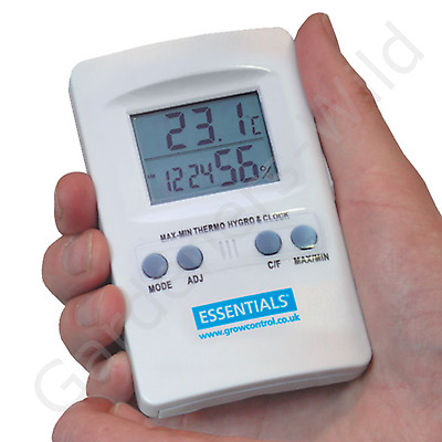 DIGITAL HYGROMETER THERMOMETER humidity temperature home hydroponic greenhouse