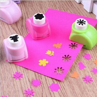 DIY Printing Paper Puncher Scrapbook Tags Cutter Hand Shaper Cards Punch 1Pcs
