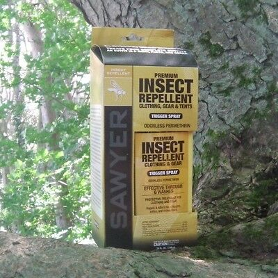 Sawyer SP657 Permethrin Premium Insect Repellent For Gear & Clothing 739ml
