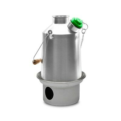 Kelly Kettle - Medium 'Scout' Stainless Steel - Bush Camping Billy