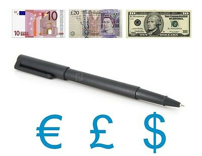 Bic Stylo Detecteur Faux Billets Counterfeit Fake Money Pen Falschgeld Stift