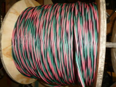 125 ft 12/2 wG Submersible Well Pump Wire Cable - Solid Copper Wire