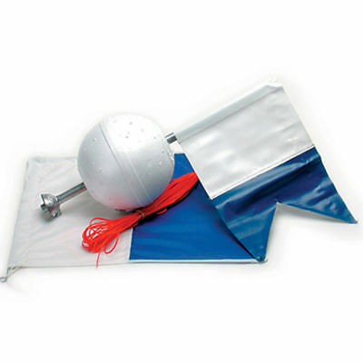 Land & Sea Rigline, Weighted Float & Flag - Boat Float Dive Scuba