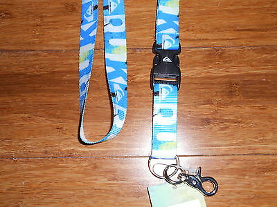Quiksilver Lanyard Keychain BACK TO COOL :) Nice Gift Idea!!!