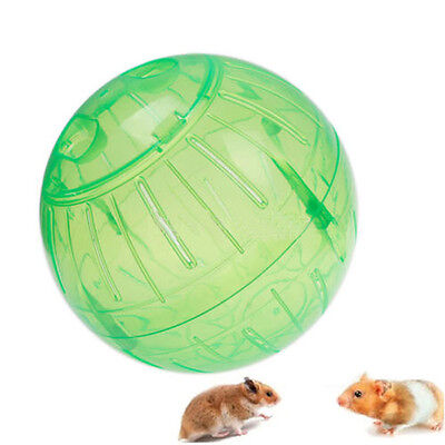 Rodent Mice Hamster Gerbil Rat Jogging Play Exercise Plastic Small Ball Toy Unic