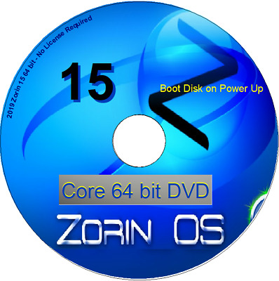 Zorin 15 Core 64 bit Linux Live OS replace Windows for Desktop Notebook Laptop