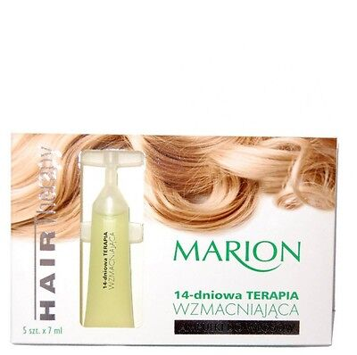 Marion Ampoules for Damaged Weak Hair 14 day Strengtening Therapy