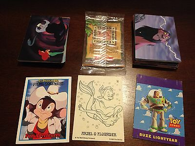 Disney Trading Cards Mixed Lot 57 Cards Collectible Gift