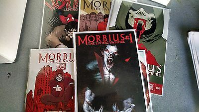 from Spiderman Comic Lot Morbius 1 2 3 4 5 6 VF-nm bagged boarded