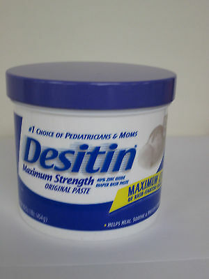 Desitin Diaper Rash Paste, Maximum Strength - 1 lb