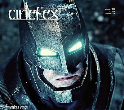 CINEFEX #146: BATMAN V SUPERMAN Deadpool 5TH WAVE Hail Caesar GODS OF EGYPT New!