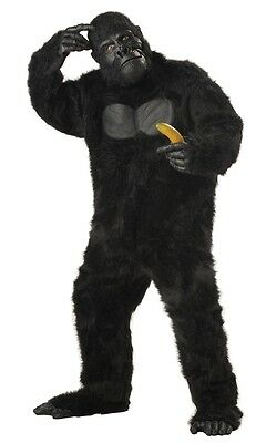 9c72d1fa337 Black Gorilla Adult Mens Plus Size Costume