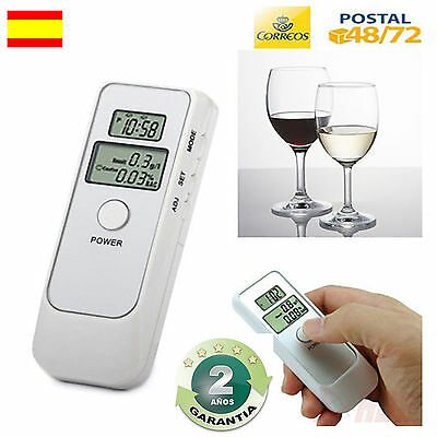 Alcoholimetro Digital Doble Lcd Detector De Alcohol Test Aliento Etilometro