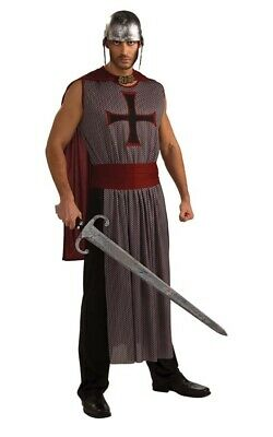 C150 Mens King/'s Crusader Medieval Knight Renaissance Fancy Dress Adult Costume