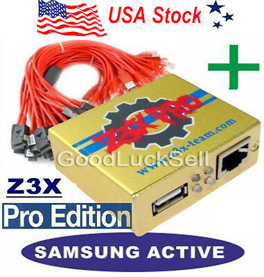 Z3X Samsung Pro Box Repair Activate Samsung Tool Pro +30 cables for New phones