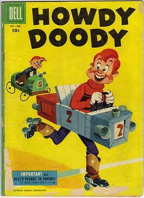Howdy Doody #35 Oct.- Dec. 1955 (Dell) -  G+ (2.5)
