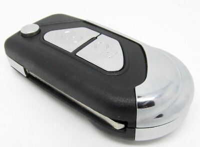 for CITROEN DS3 replacement 2 button remote key fob case and va2 blade
