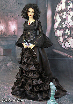 1/3 BJD outfit SD10/ SD13 girl doll size gothic dress set dollfie ship US