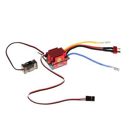 320A High Voltage ESC Brushed Bidirection Speed Controller 1/8 1/10 RC Car 0WN6