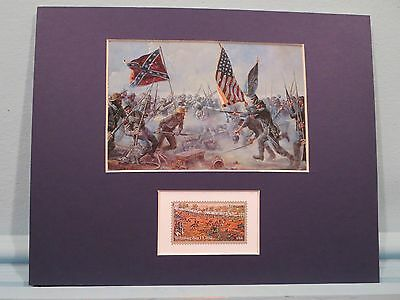 """Gettysburg - """"The Highwater Mark of the Confederacy""""  honored by its own stamp"""