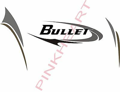 OUTBACK BULLET GRAPHICS outback stickers camper rv trailer decals by  keystone