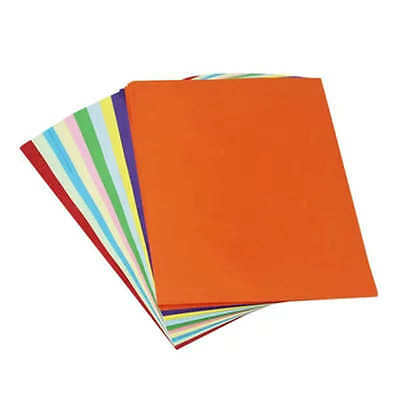 Sheets Coloured Origami Paper Double Sided Art Craft Square Assorted Paper