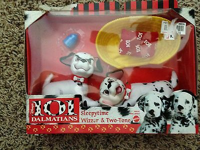Disney 101 Dalmatians Sleepytime Wizzer Two-Tone PlaySet Accessories NEW Vintage
