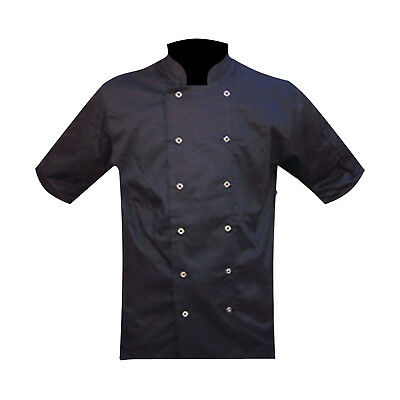 Chefs Jacket / Jackets Uniform Chef Clothing Black Mesh Back Great Quality