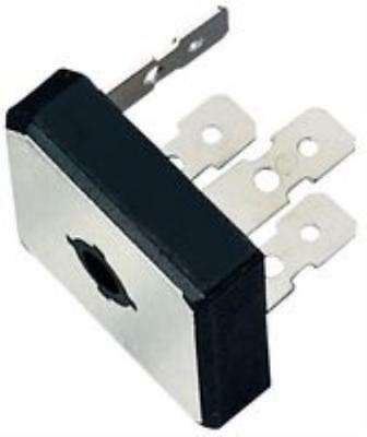 2X NO.90R8638 Multicomp Gbpc2502 Bridge Rectifier, Single Phase, 25A, 200V, Gbpc