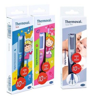 Thermoval® kids oder kids flex Digitalthermometer, Fieberthermometer, 10 Sek.