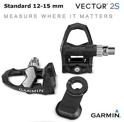 Garmin Vector 2S 2 S Pedal Pedals Powermeter 12-15mm USB Cycling Bike Bicycle