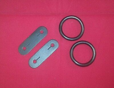 Peacock stirrups leather rubber rings rubbers replacement parts