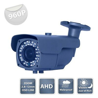 Camera surveillance WZ-950 AHD IR 36 LED IR CUT - 960P métal - Waterproof