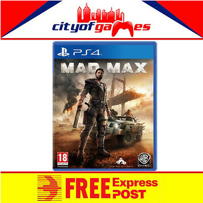 Mad Max PS4 New & Sealed In Stock Now Free Express Post In Stock
