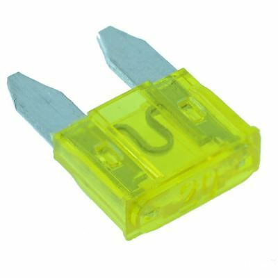 5A LED Car Auto Mini Blade Fuse 5 Amp ATM Glows when it Blows Pack of 10