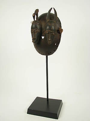 GothamGallery Fine African Art -  Ivory Coast Yaure Twin Faces Tribal Mask SALE