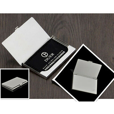 Creative Commodity Aluminum Holder Metal Cases Credit ID Card Business Wallet