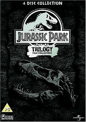 Jurassic Park Trilogy Part 1 2 3 Dvd Steelbook Lost World New Original Jurrasic