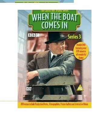 When The Boat Comes In Series 3 DVD Season New Sealed UK Original 3rd Third
