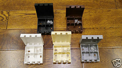 External Cable Connection Joiner Boxes Telephone CAT5e + 10 Jelly 2 Wire Crimps