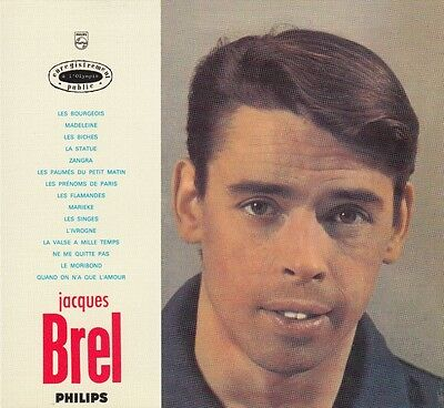 Cd Album Digipack Jacques Brel  *Les Flamandes*